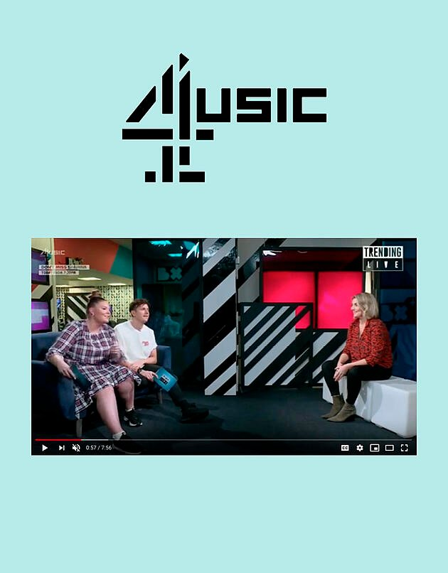 Evelyn Cotter Contributes to 4Music's Trending Live
